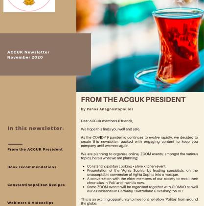 Newsletter - Nov-2020